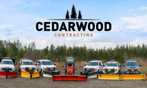 Cedarwood contracting snow removal